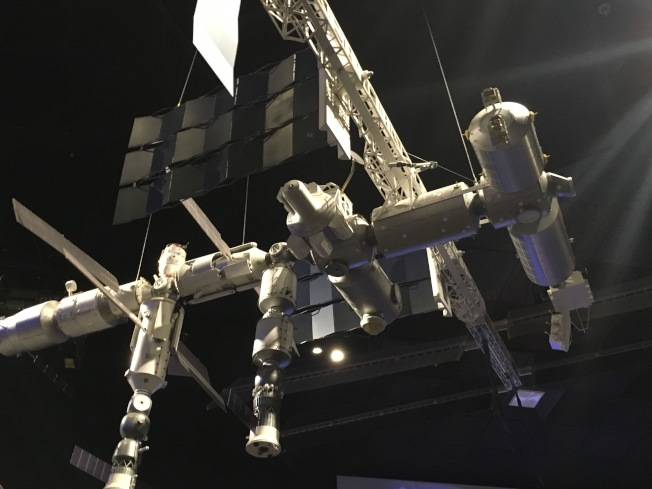國際太空站由64個大型組件組成。(作者提供)
