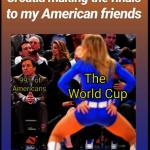 克羅埃西亞選美冠軍 用一張圖秒懂美國人對世足態度