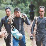泰國洞穴救援/燕窩達人 攀岩找路