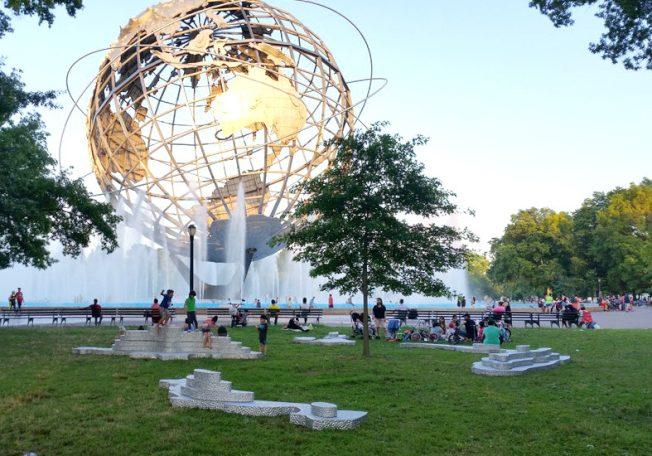 公共藝術展 進駐紐約市10公園