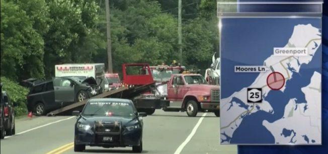 白男涉醉駕逆行 整車華裔被撞1死6傷