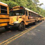 新州5校車連環撞 23人送醫