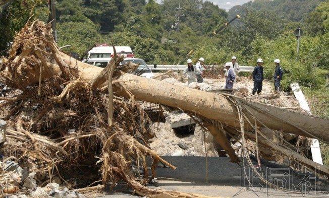 西日本暴雨  罹難者死因逾7成為窒息和溺斃
