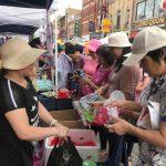華埠夏令會人潮洶湧 商家餐館也受惠