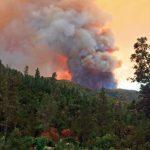 煙鎖山谷 優勝美地山火吞1.7萬畝