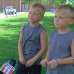 3歲女童泳池幾滅頂 6歲雙胞胎英雄救美