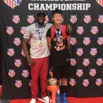 華裔籃球小將王澤凱 勇奪全美聯賽冠軍