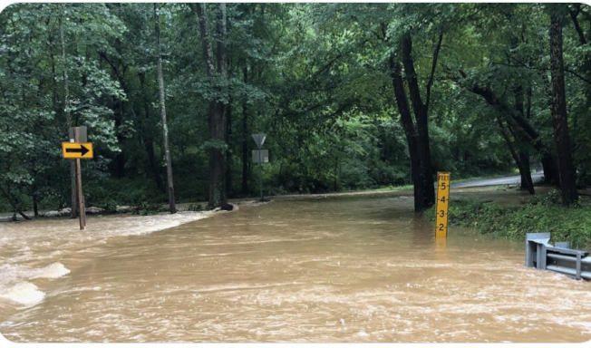 豪雨釀災  大華府多郡洪水警報 柏克鎮老樹砸死婦人