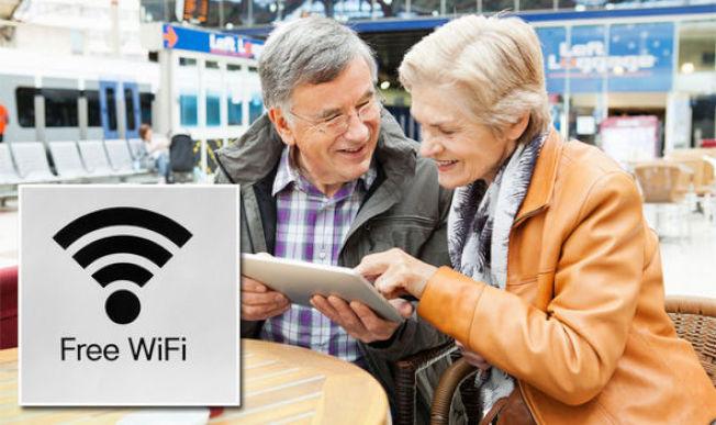 太多美國機場為了消費者方便,犧牲Wi-Fi的網路安全。(Getty Images)