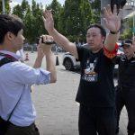 〈圖輯〉美駐北京使館  爆炸聲響現場