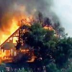 東灣克萊頓燒野火火焰50呎百戶撤離