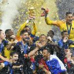 2018世足冠軍出爐 法國4:2踢走克羅埃西亞捧金盃