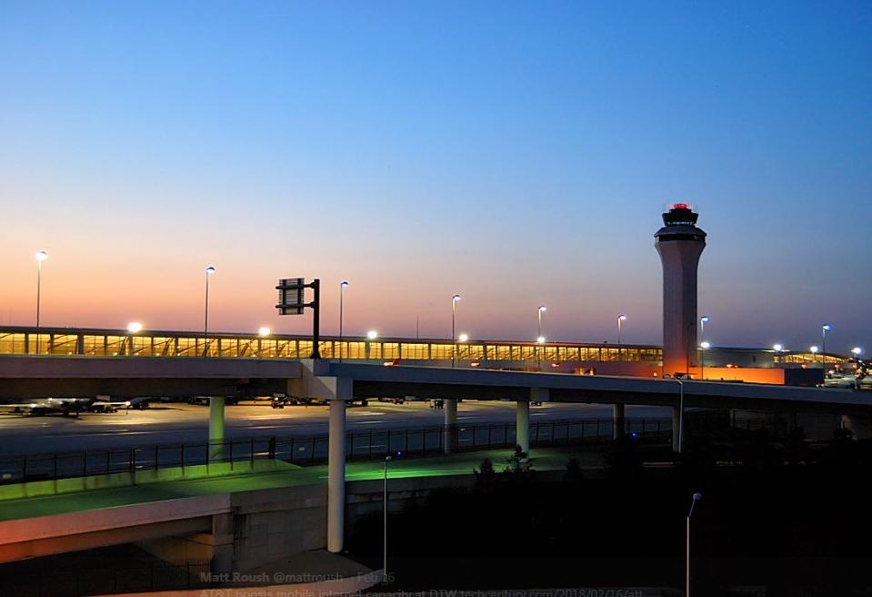 底特律機場。取自/推特截圖