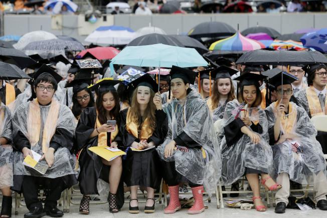 在社區學院學生中,出現越來越多的華人面孔。(美聯社)
