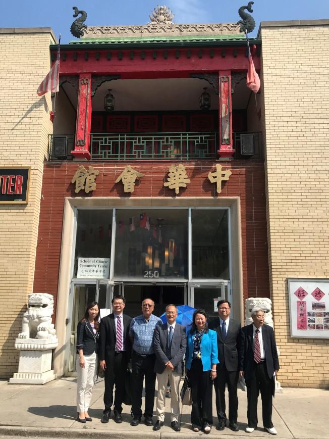 芝城中華會館長期堅定支持中華民國。(特派員黃惠玲/攝影)