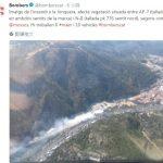 西班牙也傳森林野火   通往法國的公路關閉