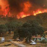 加州山火威脅日增 專家:人為造成