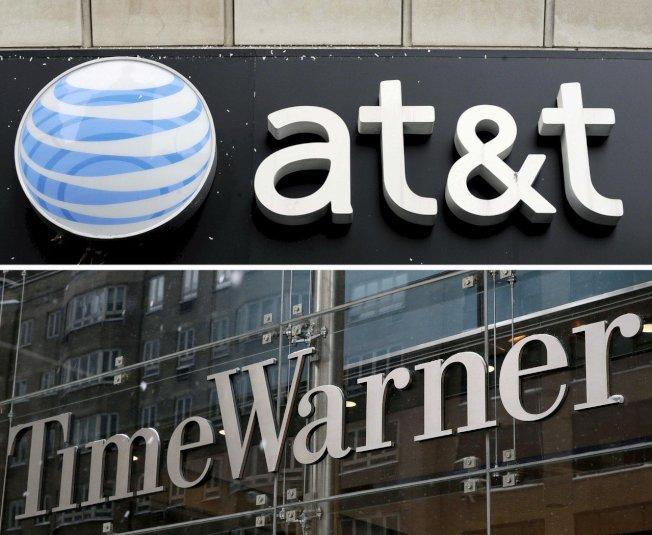 美國司法部今天怒批法院允許AT&T以850億元併購時代華納(Time Warner)。 歐新社