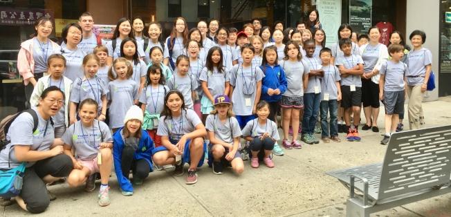 星談計劃師資學員及語言班學生到紐約中國城參與戶外教學