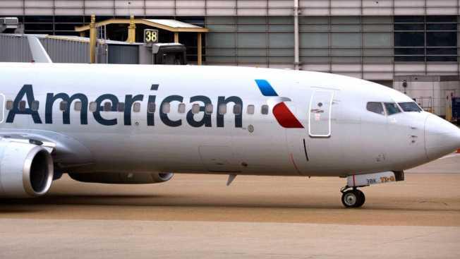 拉瓜地亞機場一架美國航空公司客機的廁所,7日上午驚現一個死胎。(Getty Images)