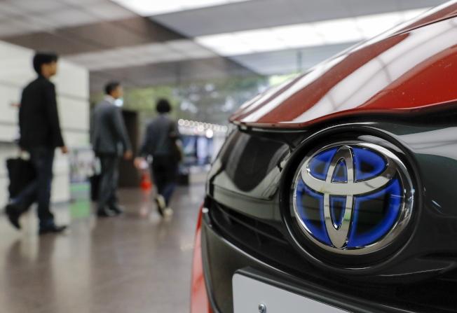 日本車廠能處變不驚,靠的是削減成本。 (歐新社)