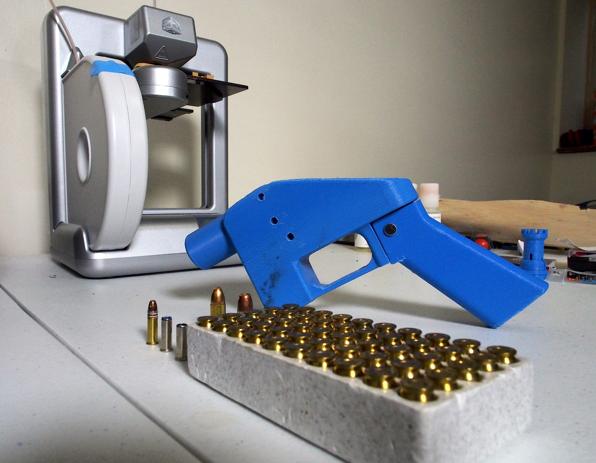 麻州警檢高層9日宣布麻州嚴禁3D槍枝。(法新社)