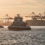 駛離的空貨櫃增加… 貿易戰波及 洛杉磯港出口量跌