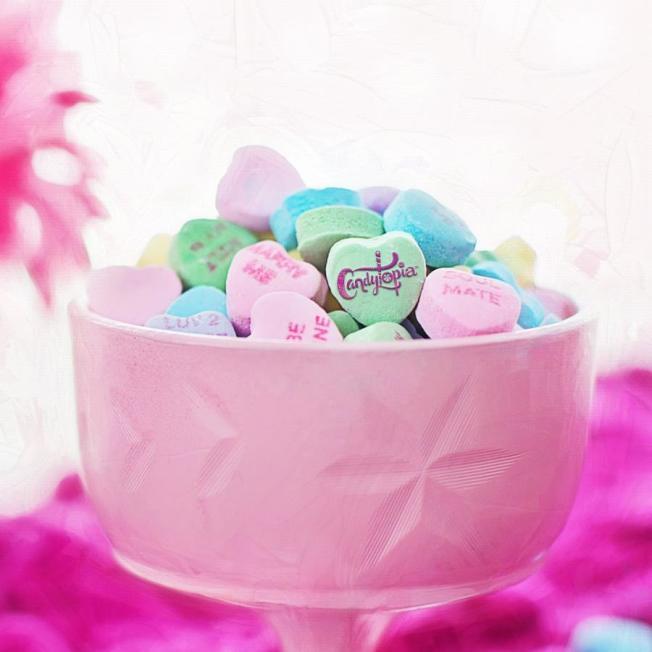 「Candytopia」展準備了糖果製的藝術品和裝飾品。(取自「Candytopia」臉書)