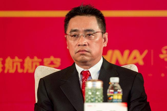 日前不幸墜崖身亡的前海航集團董事長王健。(路透)
