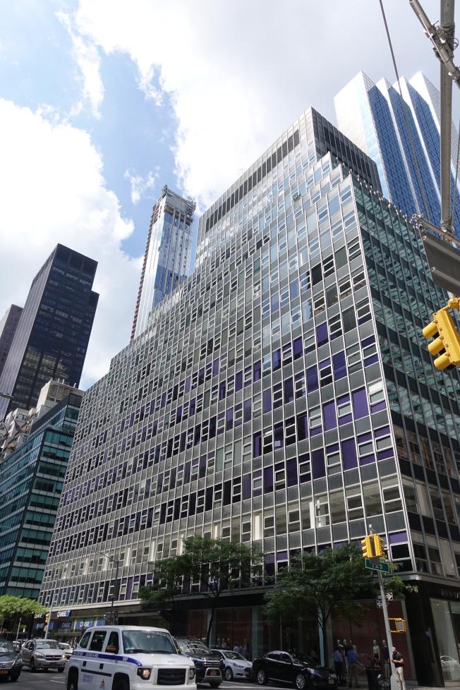 海航紐約大樓成為川普政府審查外國房地產投資的第一個目標。(記者金春香/攝影)
