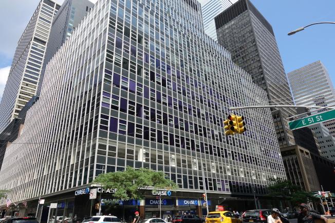 海航紐約大樓成了川普政府審查外國房地產投資的第一個目標。(記者金春香/攝影)