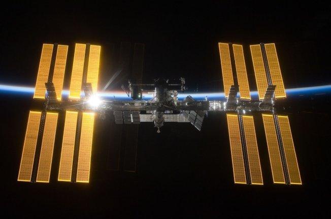 國際太空站。取自美國太空總署