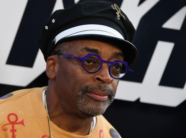 圖為好萊塢導演史派克李執導新作傳記電影「黑色三K黨員」(BlacKkKlansman)即將上映。Getty Images