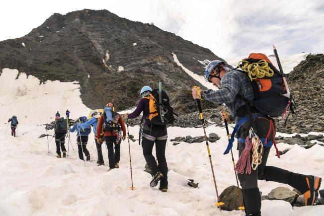 今年登山季開始以來,高4810公尺的白朗峰已奪走15人性命。Getty Images
