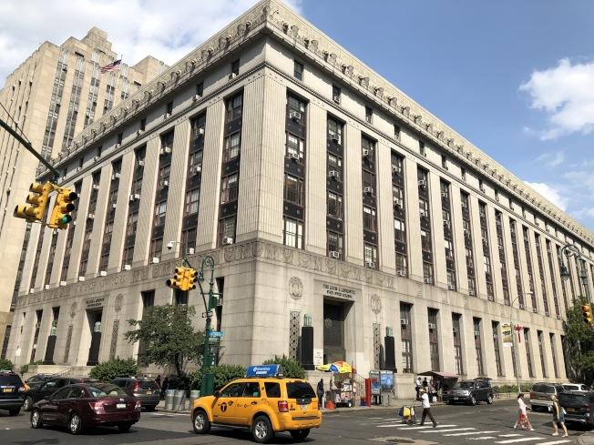 市府計畫在中央街80號建起新的高層拘留所。(記者洪群超/攝影)