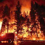 天氣警報高溫乾熱山林大火恐再擴大