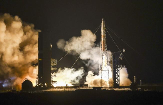 帕克升空後將展開它的7年太陽探索旅程。美聯社