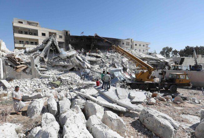 敘利亞武器庫爆炸增至69死 含17名兒童