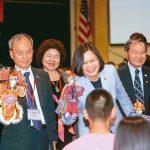 過境美國 蔡總統:台灣扮演區域穩定力量