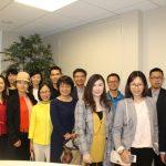 深圳福田代表團訪舊金山考察寰球人才交流中心