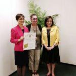 華裔女企業家白越珠 就任馬州婦女委員