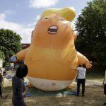 「川普嬰兒」氣球抵新州 意者可「認領」