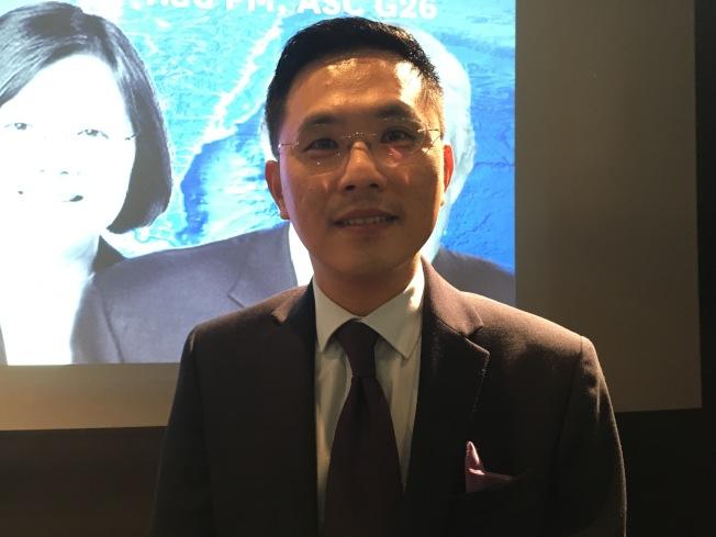 台美關係研究中心資深研究員陳以信。(記者謝雨珊/攝影)