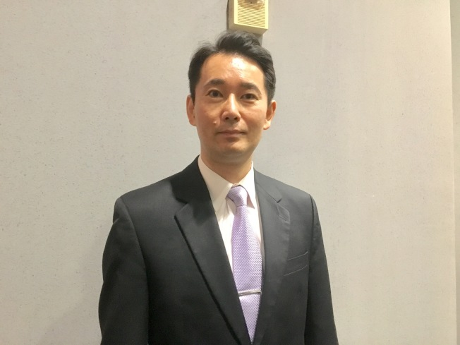 政治大學國務事務學院副院長黃奎博。(記者謝雨珊/攝影)