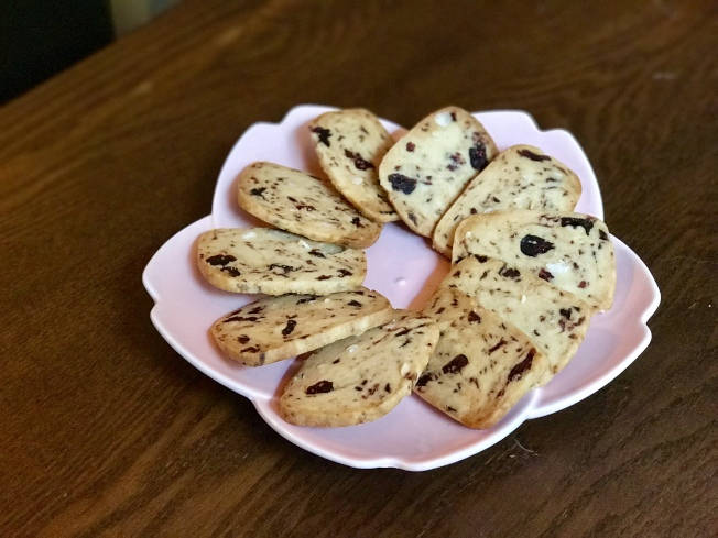 蔓越莓餅乾。(記者劉大琪/攝影)