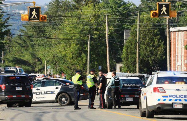 加拿大東部弗瑞德里克頓巿發生槍擊案,造成4人喪生。 美聯社