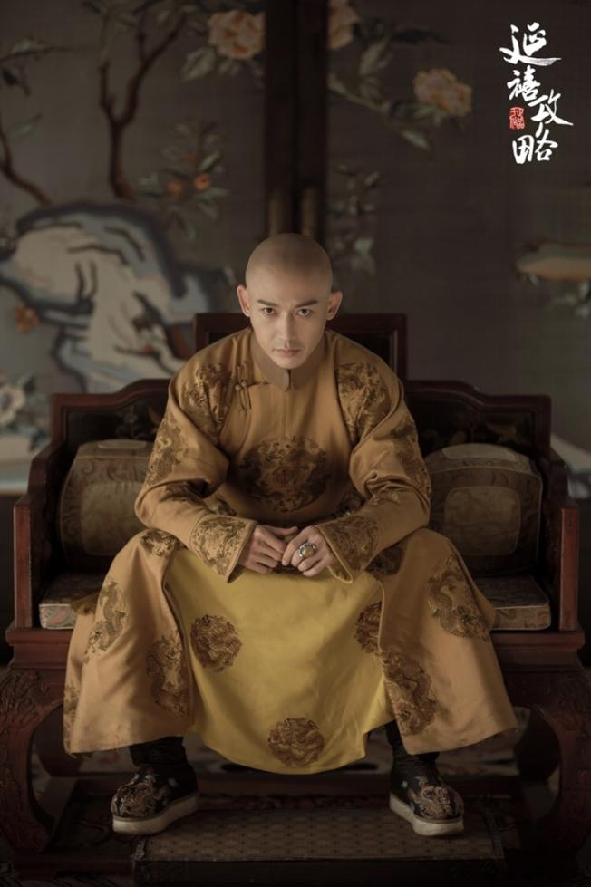 聶遠扮演乾隆皇帝,服飾做工複雜。(取材自豆瓣電影)