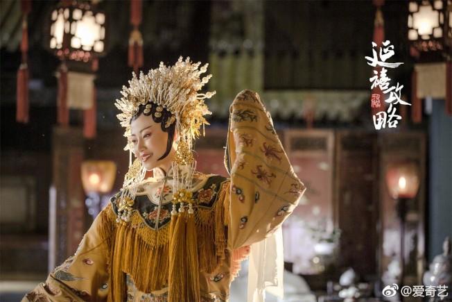高貴妃的精美服飾。(取材自豆瓣電影)