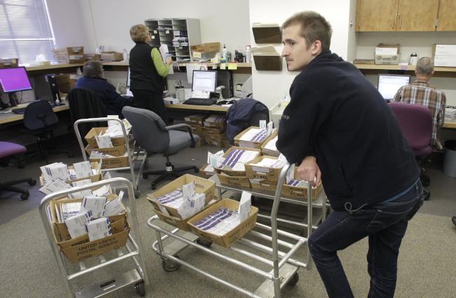 俄勒岡州的政府雇員因工作不同,退休金也不同。(美聯社)