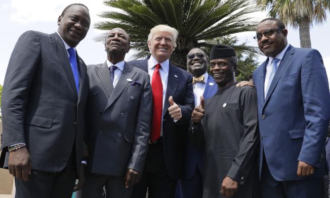 川普總統有意增加數百億美元海外投資,增加美影響力。(Getty Images)